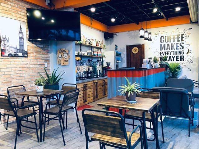 Ghiền cafe quán