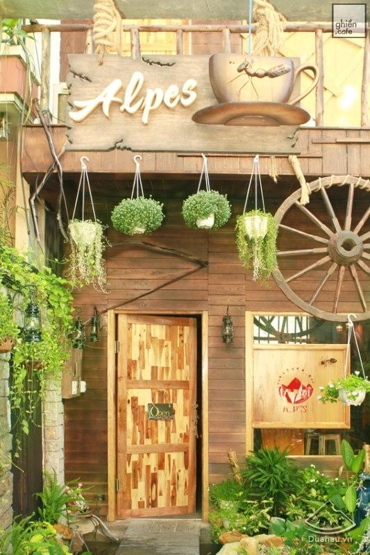 Alpes Café - Lê Văn Sỹ